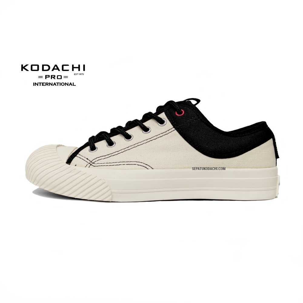 sepatu-kodachi-the-new-yorker-low-cream-hitam-capung-lokal-badminton-ykraya