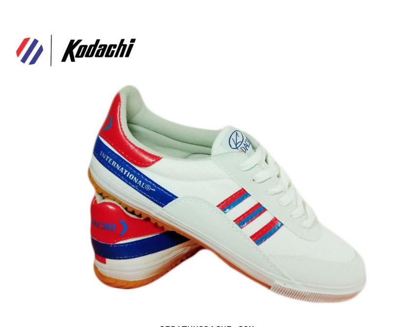 sepatu kodachi 81116 merah biru