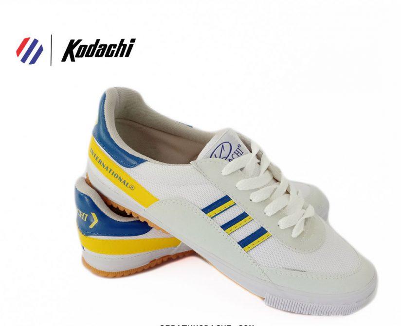 sepatu kodachi 8116 kuning biru
