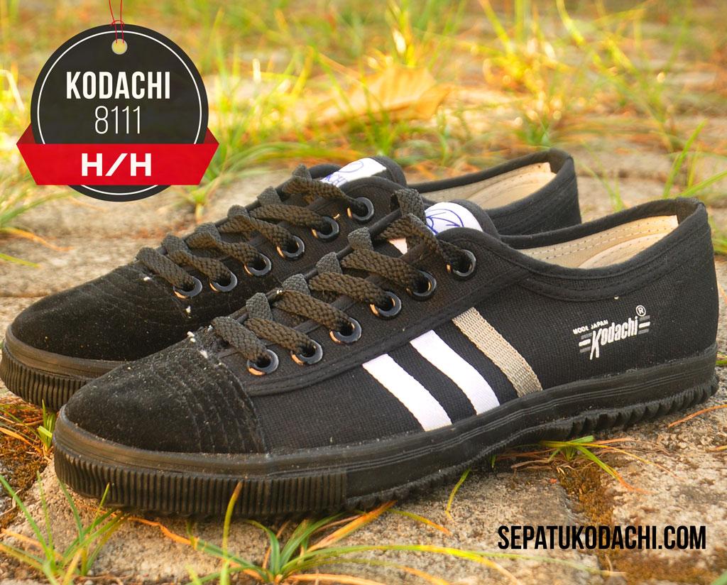 Sepatu kodachi 8111 HITAM HH