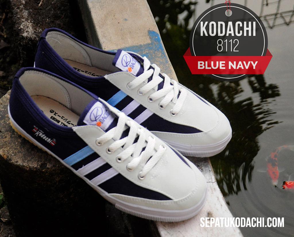 sepatu kodachi 8112 navy blue