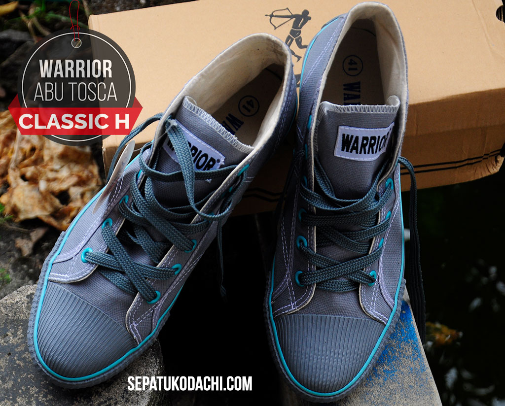 Sepatu Warrior Classic Abu Tosca Hc Sepatu Kodachi