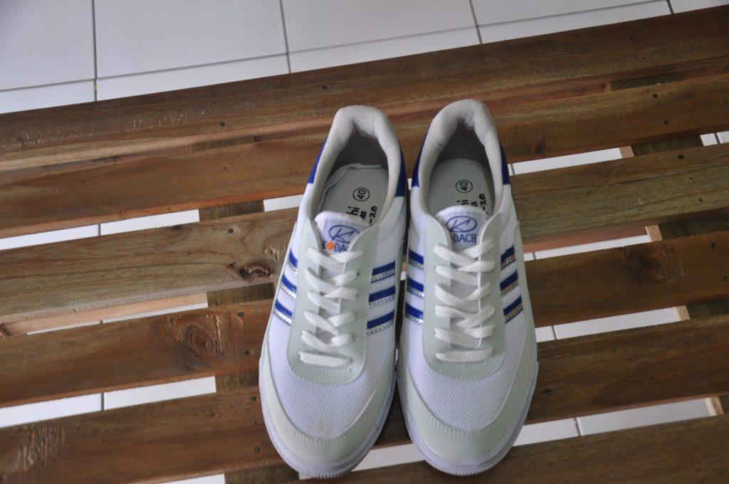 sepatu kodachi .com 8116 blue silver