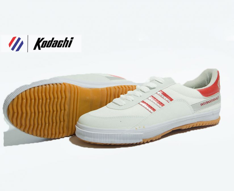 sepatu kodachi 8116 merah silver