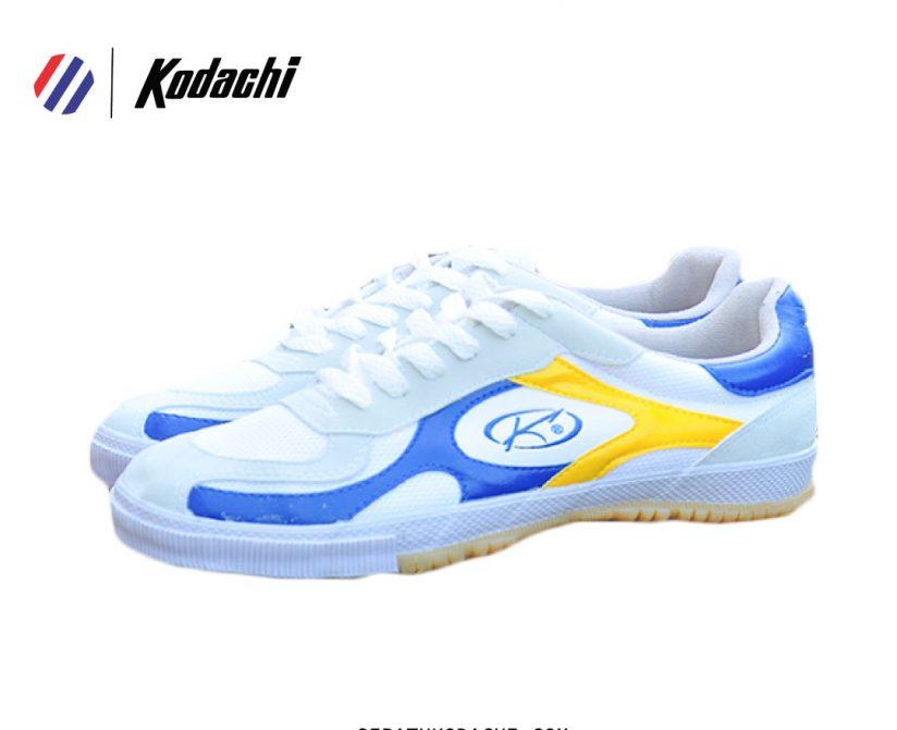 sepatu kodachi 8118 kuning biru