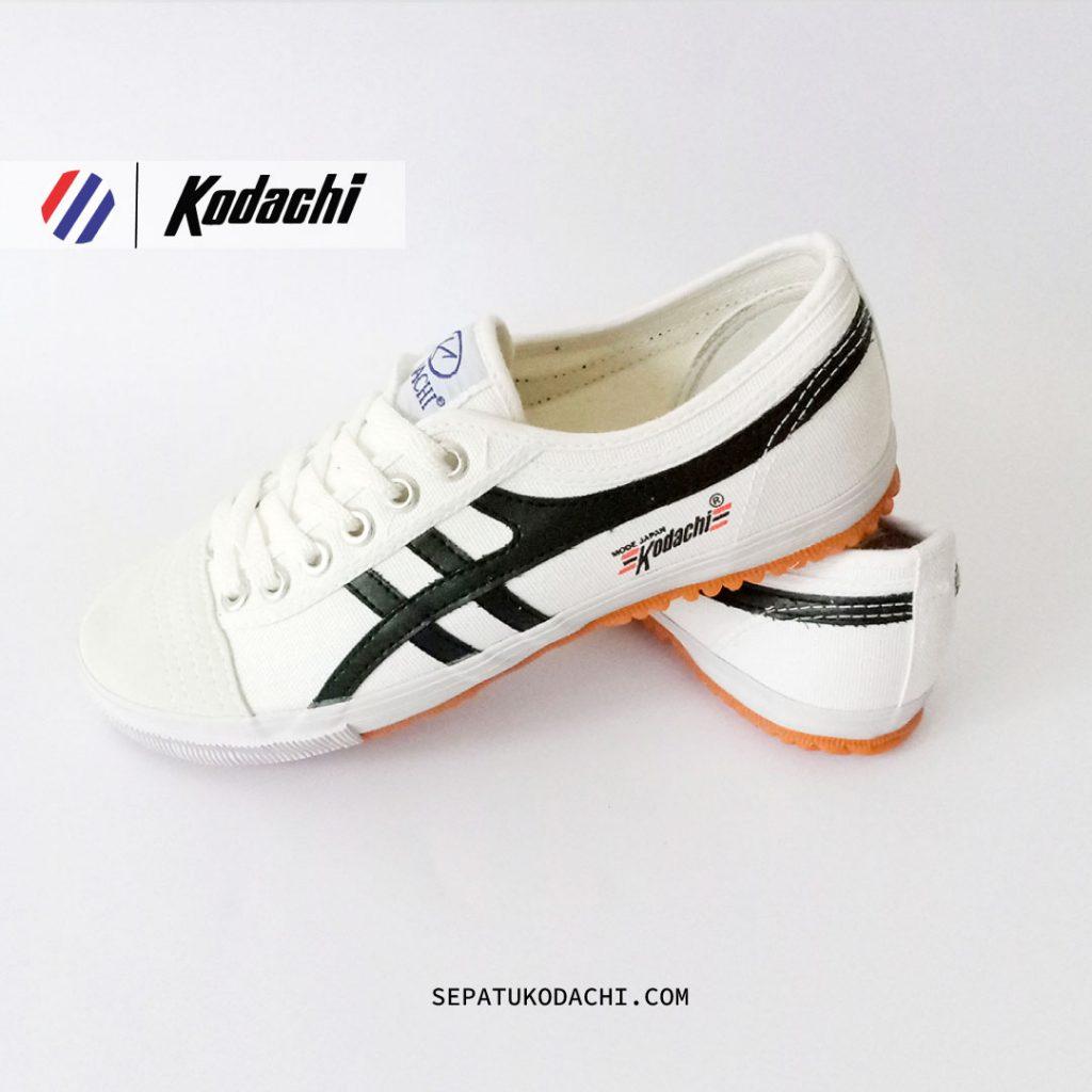 sepatu kodachi 8172 Putih hitam