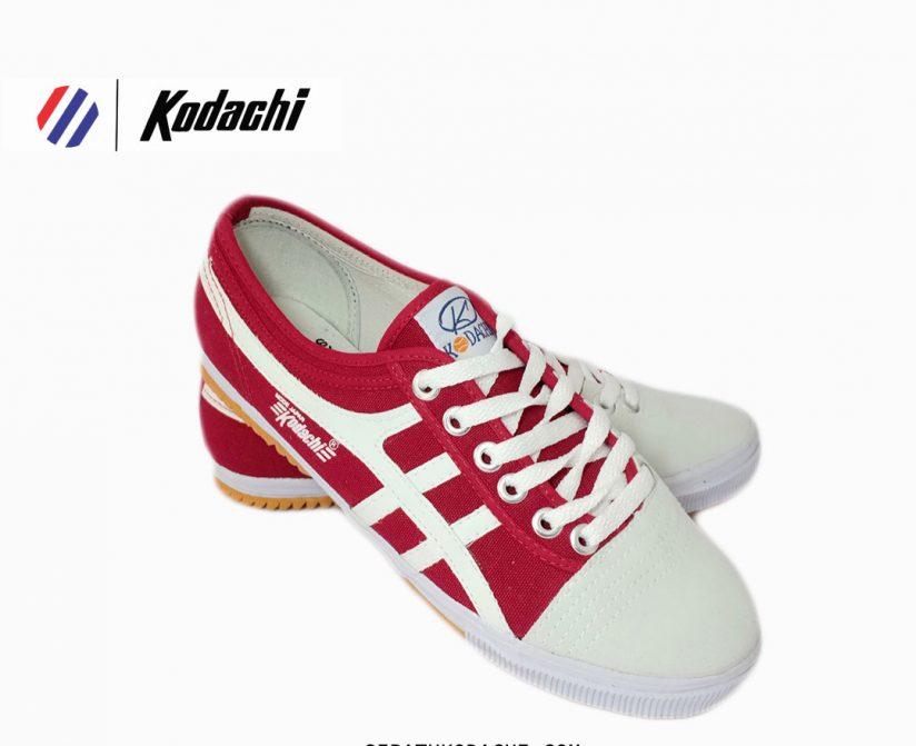 sepatu kodachi 8172 merah putih