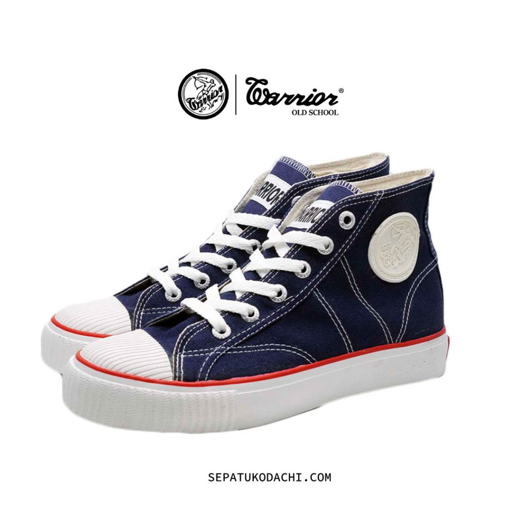 sepatu warrior classic navy