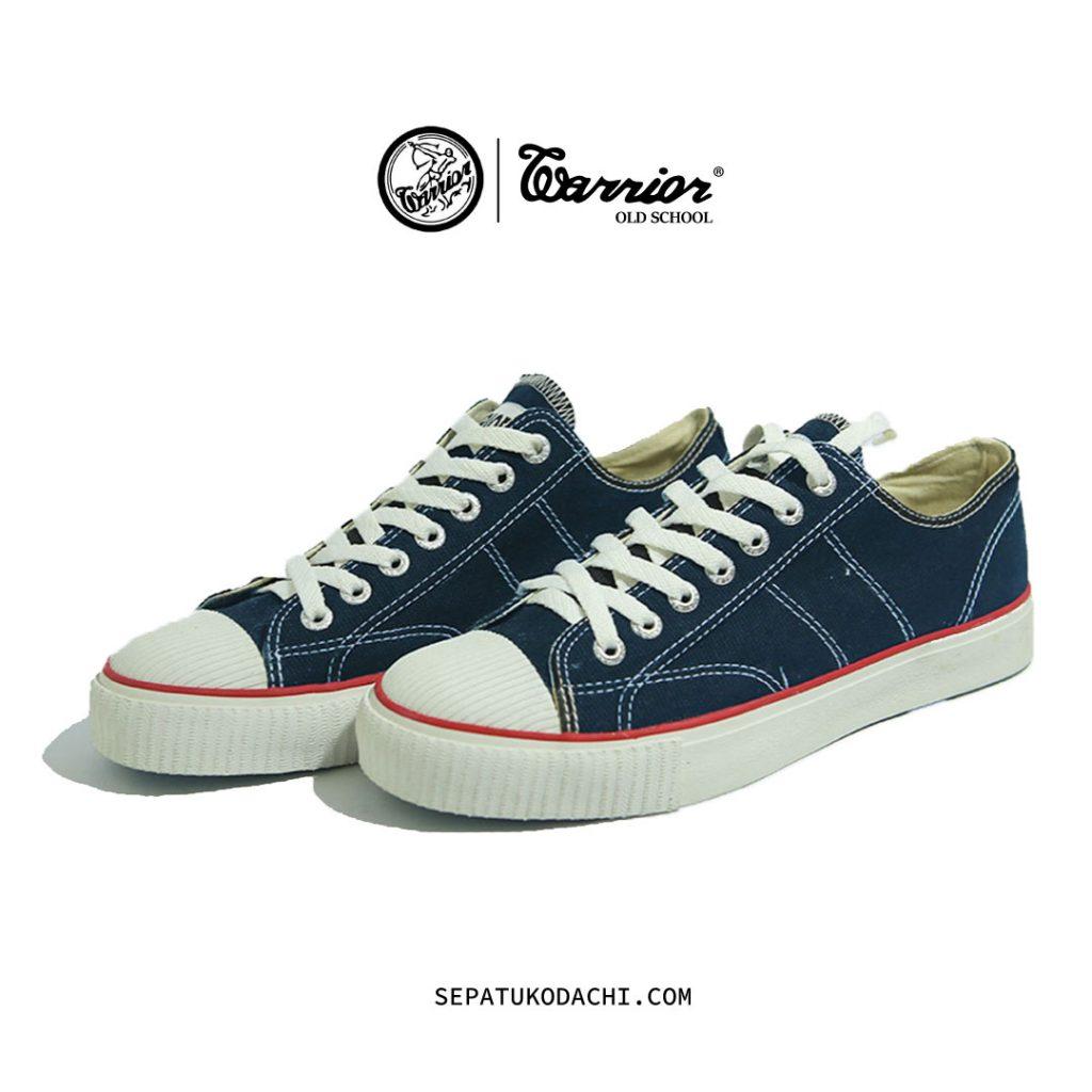 Sepatu Warrior Classic Low Navy 1
