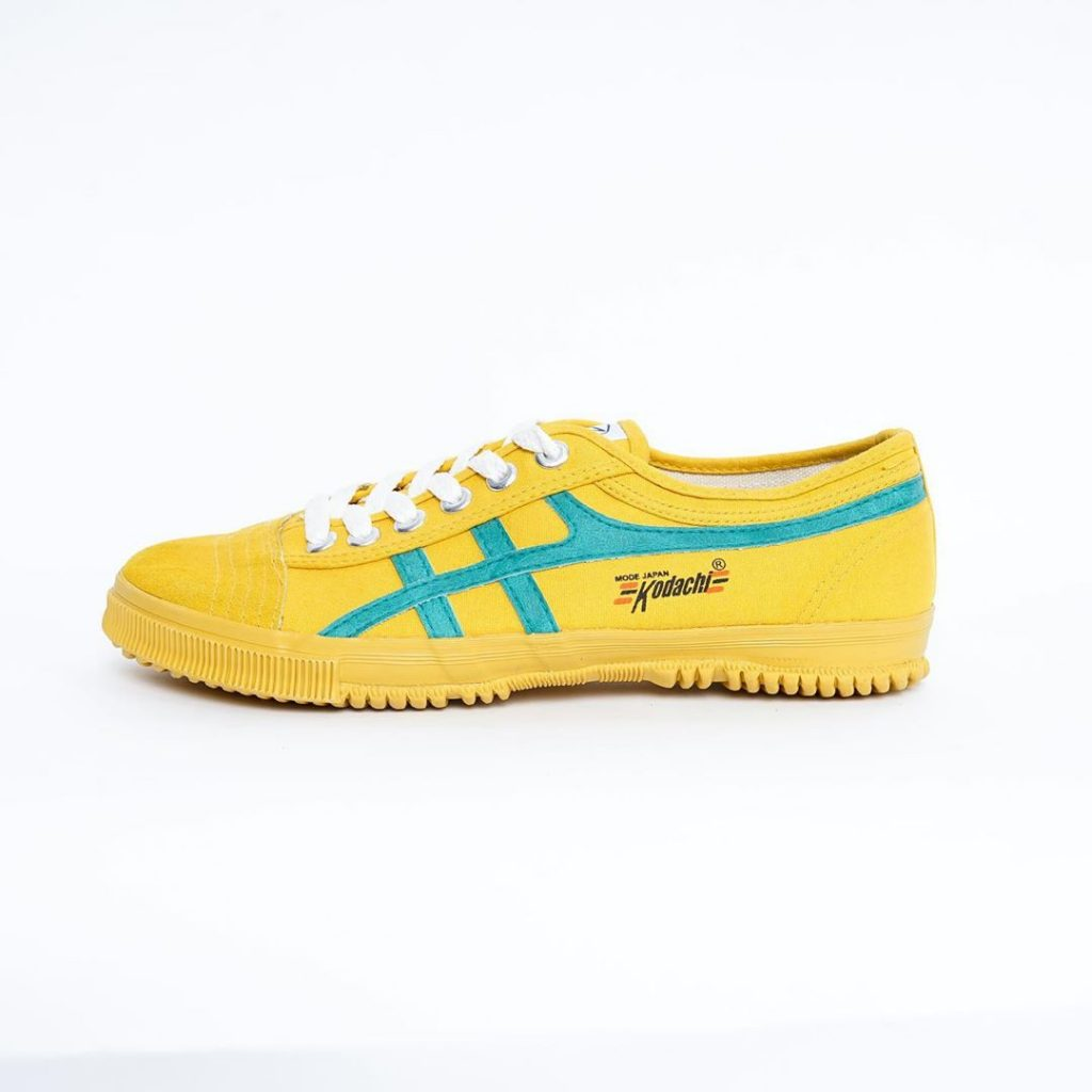 sepatu capung kodachi 8172 Kuning hijau kraya.com 1