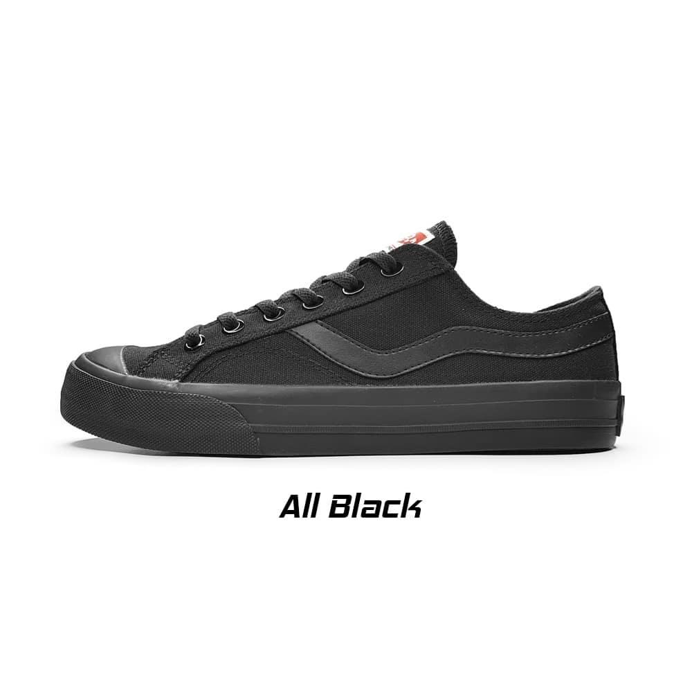 ventela public low all black