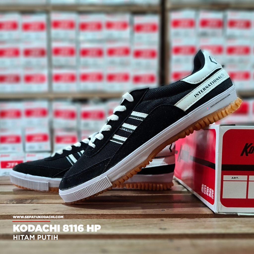 sepatu kodachi 8116 Hitam Putih hp 4