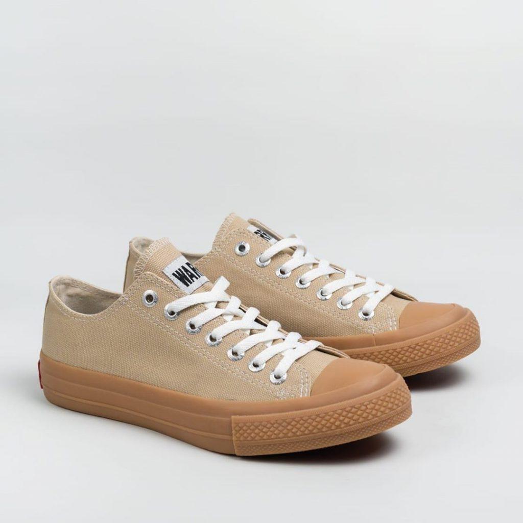 sepatu WARRIOR-NEO-SPARTA-low-lc-Cream-GUM-1